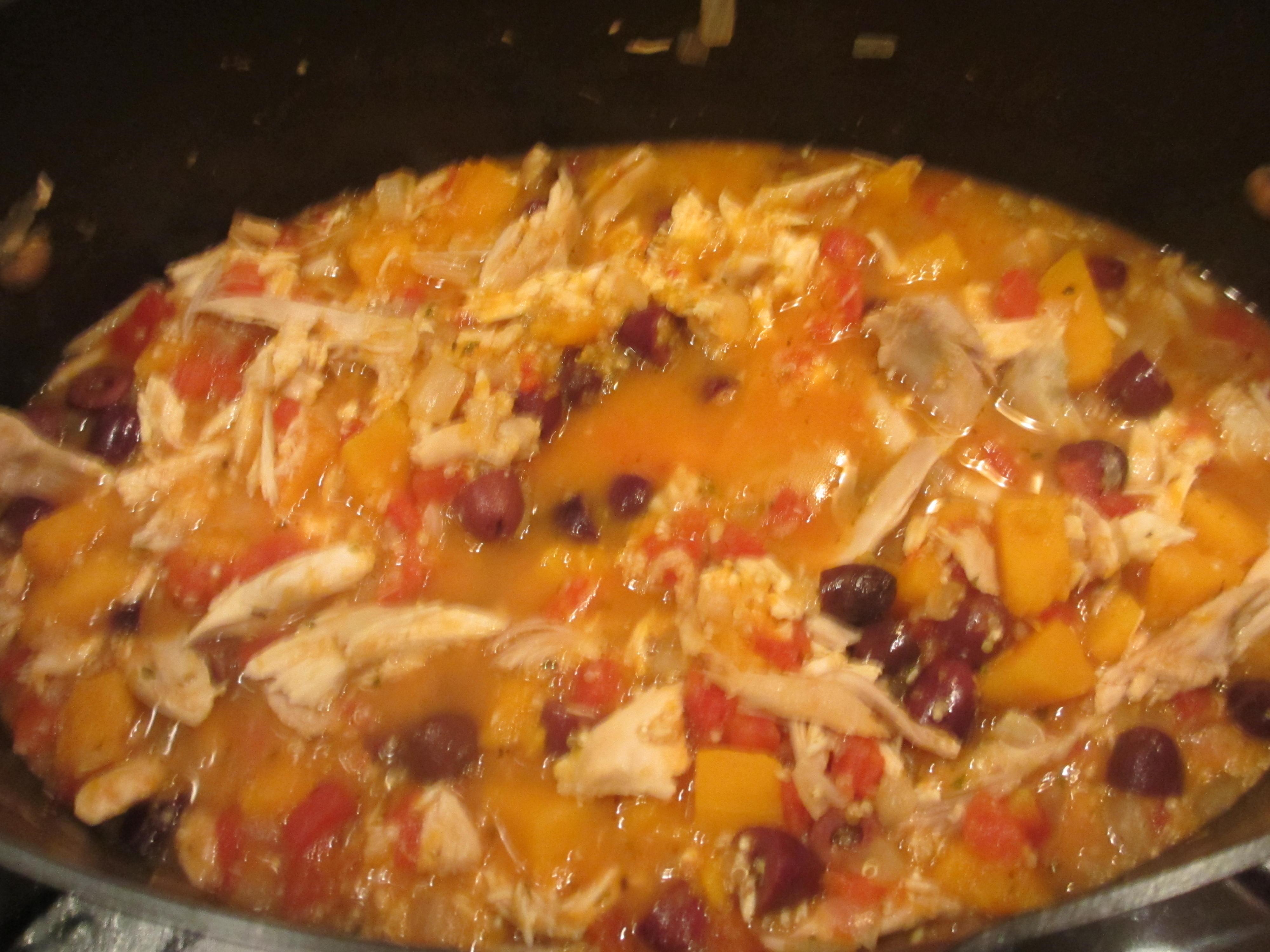 Hearty Chicken Stew with Butternut Squash & Quinoa Recipe | boxgrl81