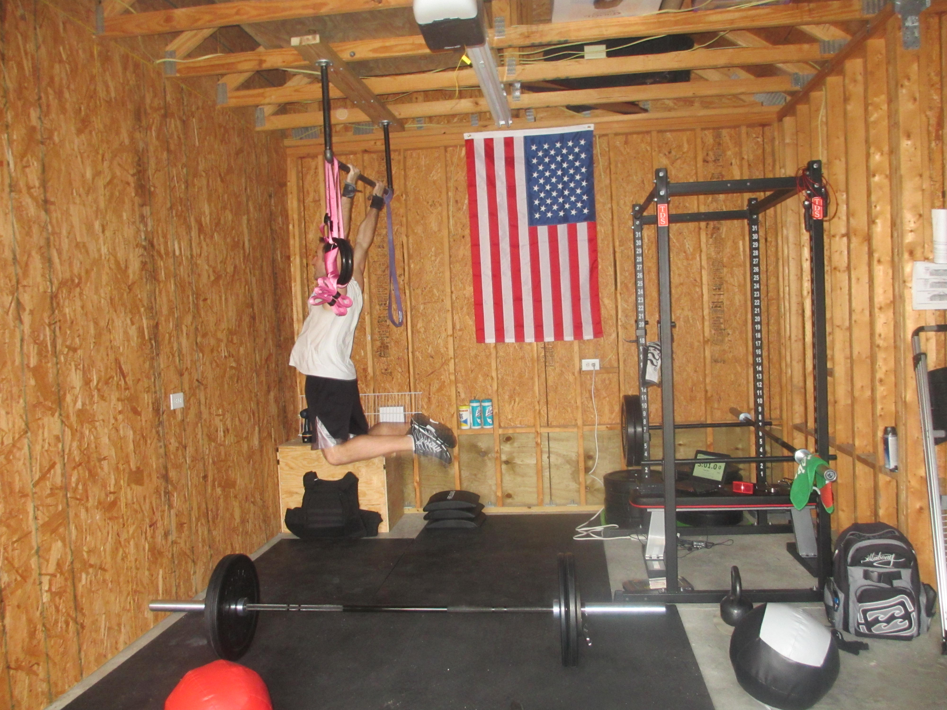 Home gym rogue fitness crossfit obsessed i want this too home